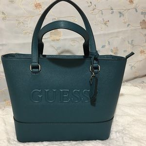 Guess Bag Teal Color